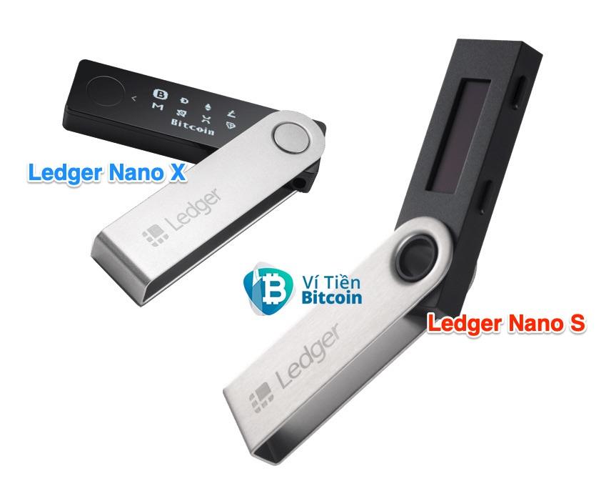 Ví lạnh Ledger Nano X và Ledger Nano S