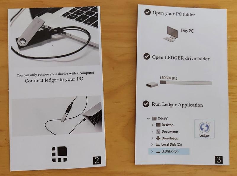 Hướng dẫn sử dụng giả mạo, chứa phần mềm Ledger Live FAKE